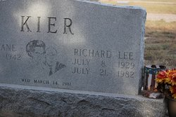 "Richard Lee ""Dick"" Kier"