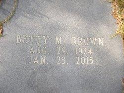 Betty <I>McGinty</I> Brown