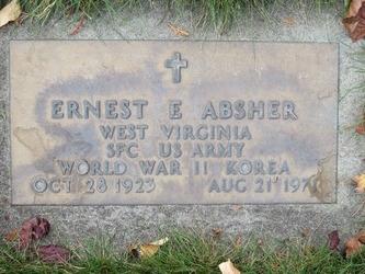 Ernest E Absher