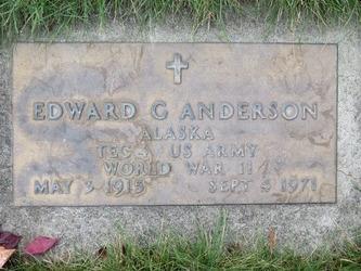 Edward G Anderson