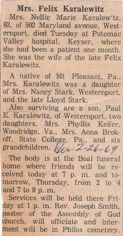 Nellie Karalewitz