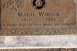 Marie Winser