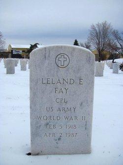 Leland Eugene Fay