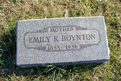 Emily K <I>Menaugh</I> Boynton