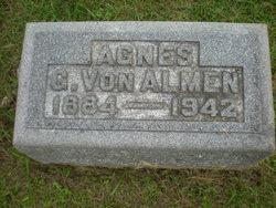 Agnes M. <I>Greenfield</I> Von Almen