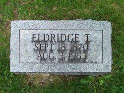 Eldridge T Oliver