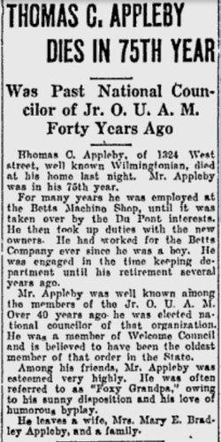 Thomas C Appleby