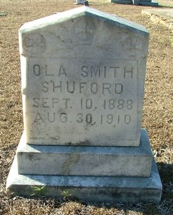 Ola Smith <I>Smith</I> Shuford