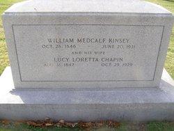 Lucy Loretta <I>Chapin</I> Kinsey