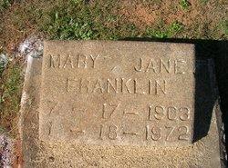 Mary Jane Franklin