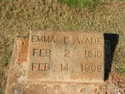Emma B <I>Copeland</I> Wade