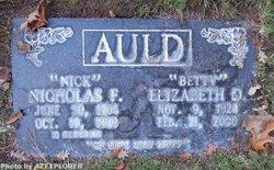 "Elizabeth Deane ""Betty"" <I>Faucett</I> Auld"