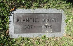 Blanche C Brown