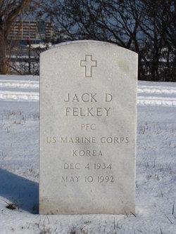 Jack D Felkey