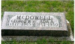 Ada Alpha <I>Lewis</I> McDowell