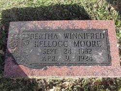 Bertha Winnifred <I>Kellogg</I> Moore