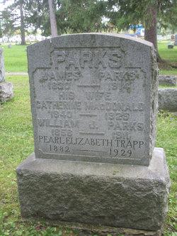 Pearl Elizabeth <I>Parks</I> Trapp