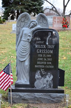 "Mileek Troy ""Big Lizzle"" Grissom"