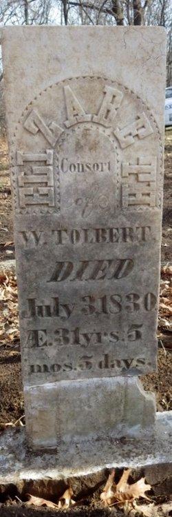Elizabeth <I>McMullen</I> Tolbert