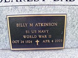 "Billy Monroe ""Bill' or Billy Roe"" Atkinson"