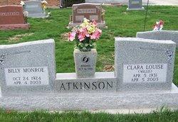 Clara Louise <I>Willis</I> Atkinson
