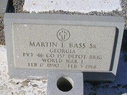 Martin Luther Bass Sr.