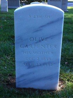 Olive J <I>Negley</I> Carpenter