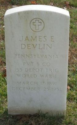 James E Devlin