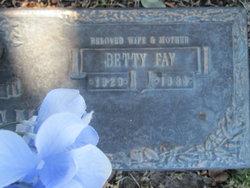 Betty Fay <I>Sligh</I> Allen