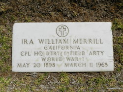 Ira William Merrill
