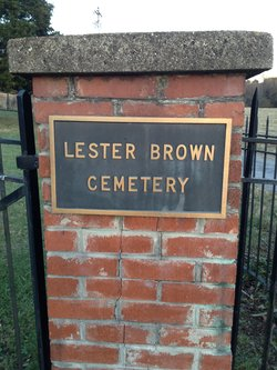 Lester Brown Family Cemetery