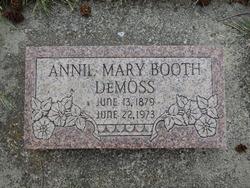 Annie Mary <I>Booth</I> DeMoss