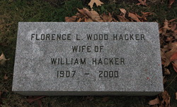 Florence Leas <I>Wood</I> Hacker