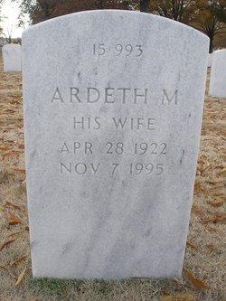Ardeth Mardene <I>Milligan</I> Smith