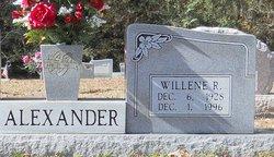 Willene <I>Rayborn</I> Alexander
