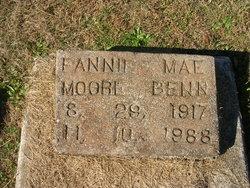 Fannie Mae <I>Moore</I> Benn