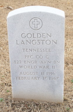 PFC Golden Langston