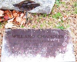 Pvt John Willard Chandler
