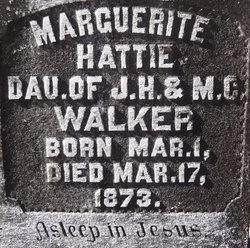 Marguerite Hattie Walker