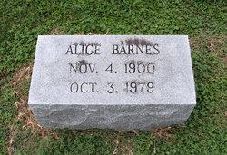 Alice Barnes
