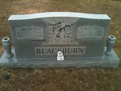 "Willie Curry ""Will or W.C."" Blackburn, Sr"