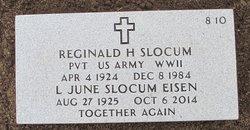 """Reginald H """"Reggie"""" Slocum"""