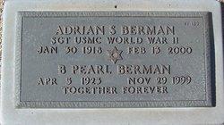 Sgt Adrian S Berman