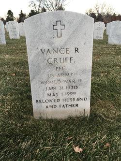 Vance R Cruff