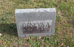 Geneva Angeline <I>Mayse</I> Anderson