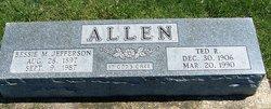 Bessie M. <I>Jefferson</I> Allen