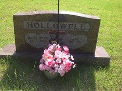 Hazel <I>Hicks</I> Hollowell