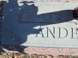 Bessie Blanche <I>Cagle</I> Anderson