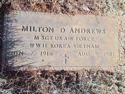 Milton D Andrews