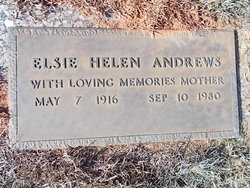 Elsie Helen Andrews